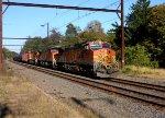BNSF 4948 leading a K042